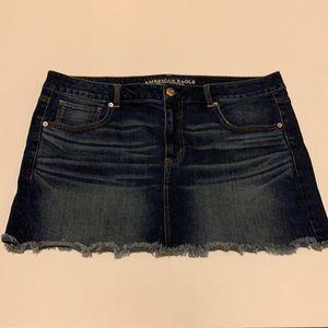American Eagle jean skirt plus size 18